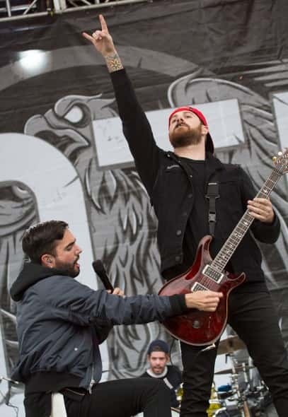 A Day To Remember (photo by Jason Squires)