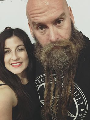 Chris of Five Finger Death Punch and KiKi