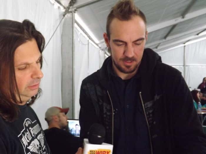 Adam and Mike from Saint Asonia (Also known from Staind and Three Days Grace)