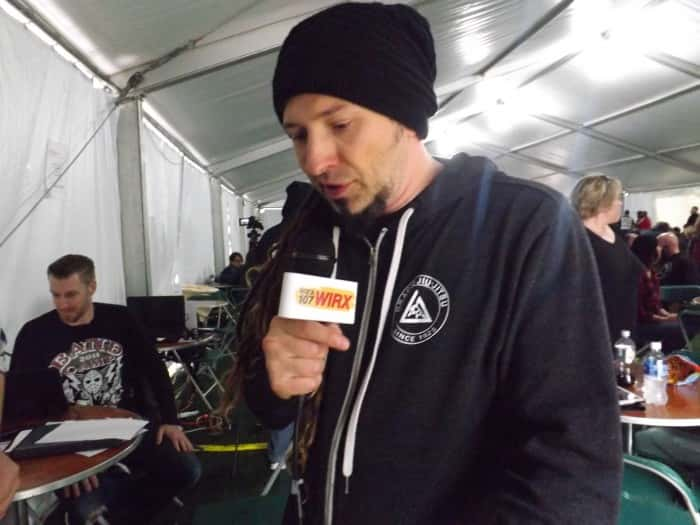 Zoltan from Five Finger Death Punch