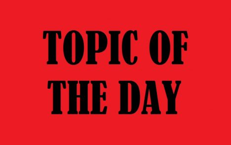 TOPIC OF THE DAY 09/06/19 | ROCK 107 WIRX