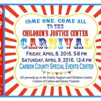 come one come all to the children s justice center carnival