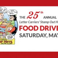 the national association of letter carrier annual stamp out hunger food drive
