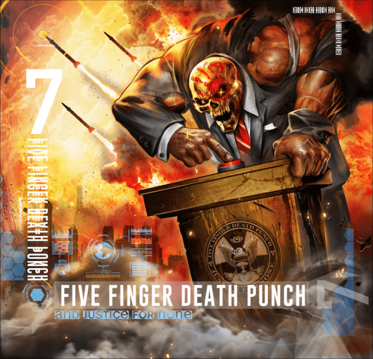 Five Finger Death Punch And Justice for None