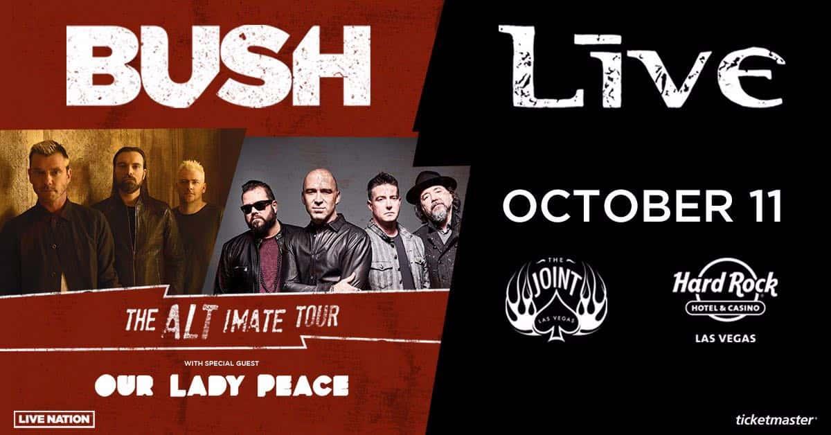 Bush & Live: The ALT-imate Tour w/ special guest Our Lady