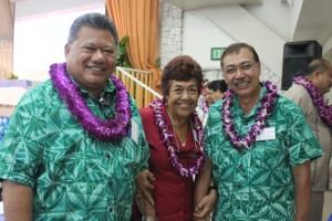 Health Summit Samoa leaders