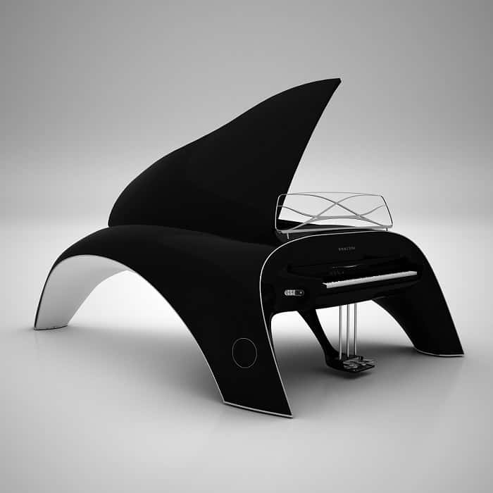 5 Wacky Modern Grand Pianos That I Need For My Living Room