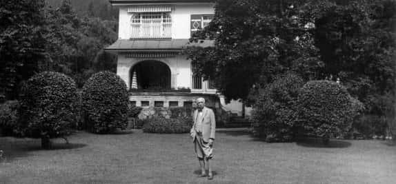 Strauss Garmisch villa2