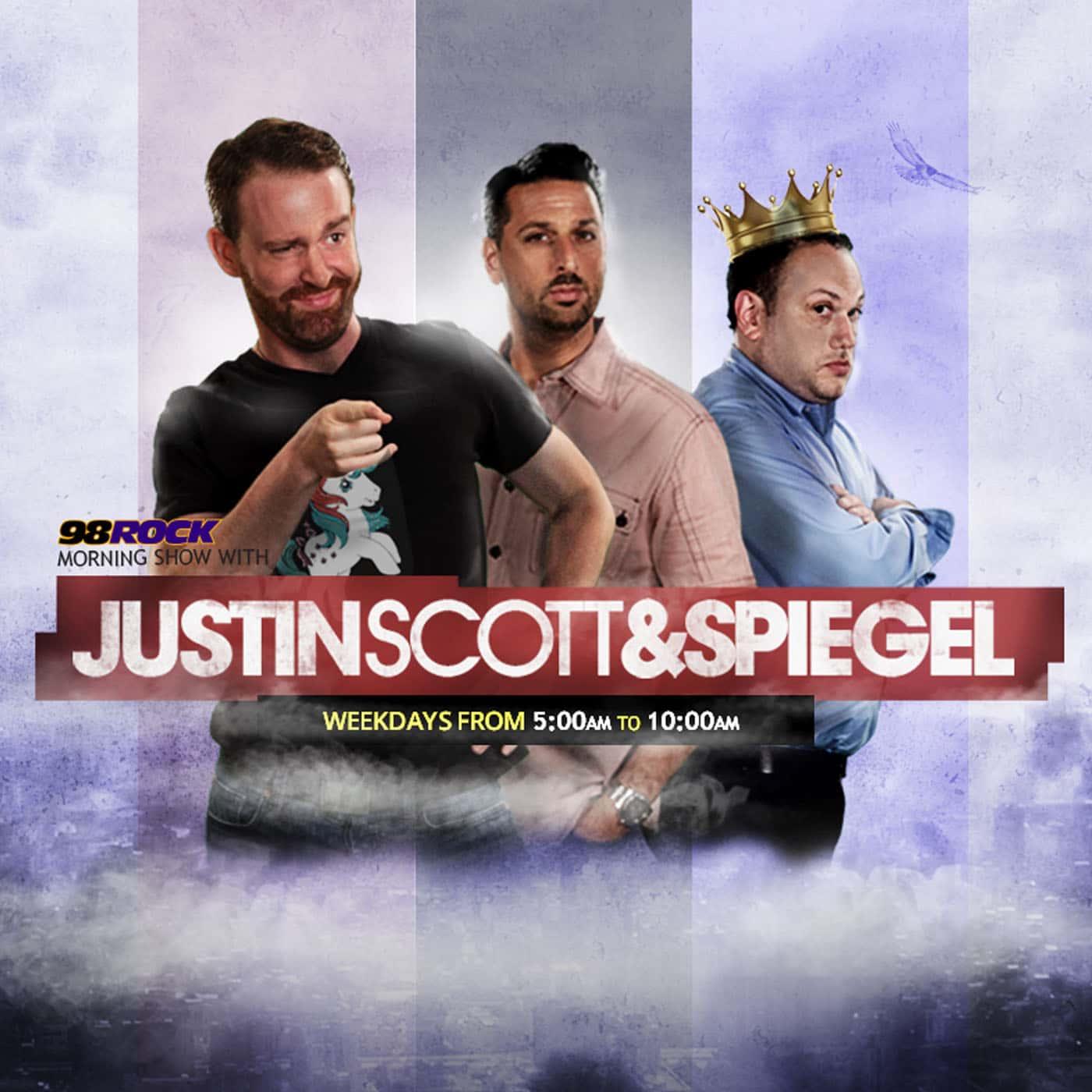 Justin, Scott and Spiegel Show Highlights | Listen via Stitcher for