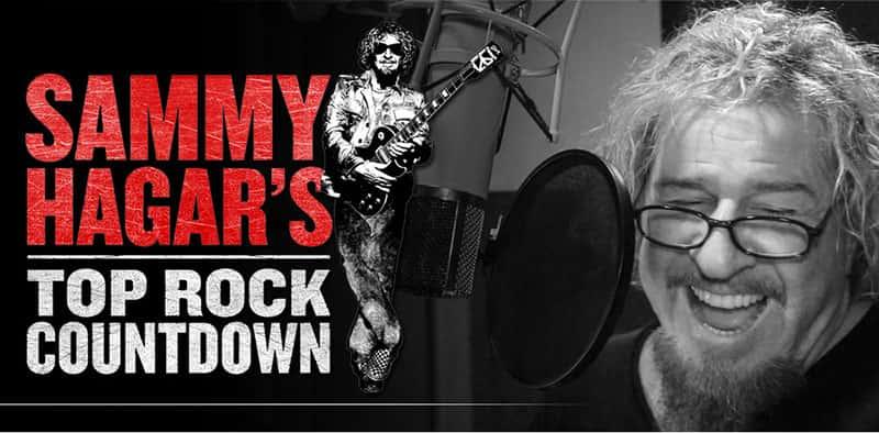 Sammy Hagar Top Rock Countdown