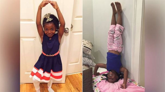 6-Year-Old Gymnast Gets Shout-Out From Her Olympic Idol