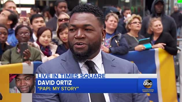 Baseball icon David Ortiz discusses his new autobiography