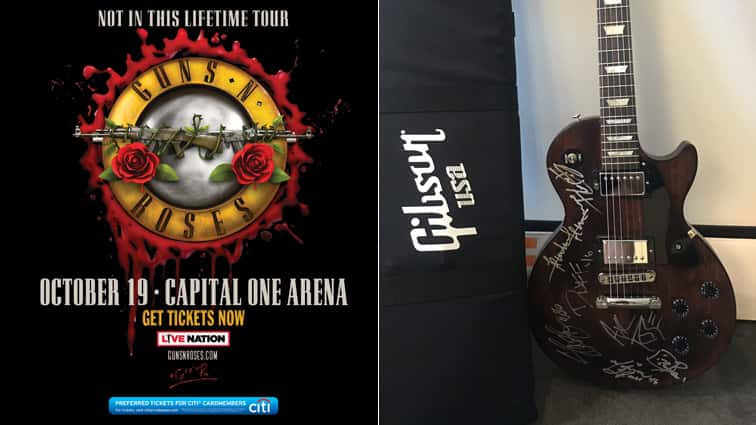 LISTEN TO WIN: Guns N Roses Tickets, Signed Guitar | 98 Rock