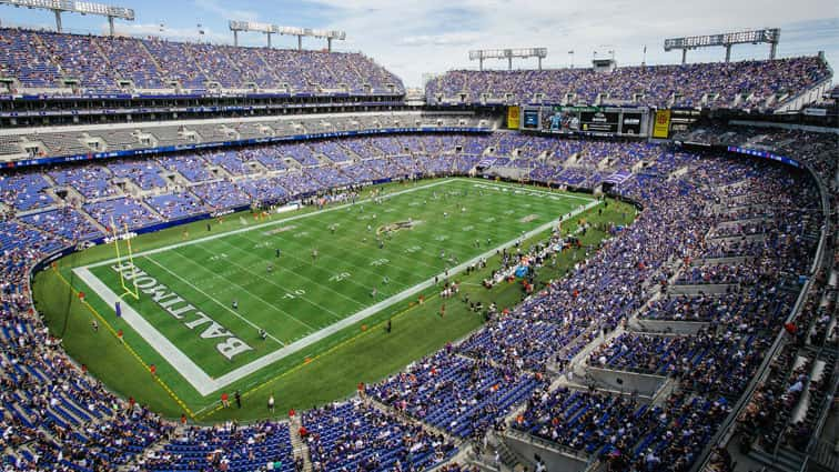 Ravens Stadium Practice Cancelled 7 21 98 Rock Baltimore