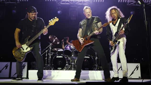 Watch Metallica rock from all angles in 360-degree