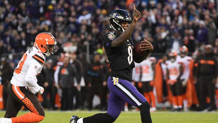 Ravens Beat Browns Win Afc North Crown Head To The