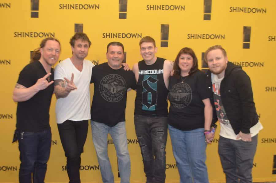 PHOTOS: 98 Rock's Shinedown Meet and Greet   98 Rock Baltimore