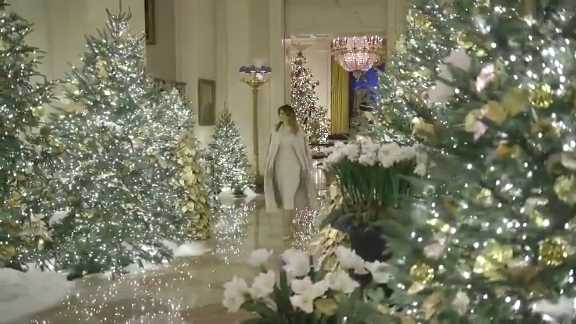 VIDEO: First lady Melania Trump unveils 2019 White House Christmas decorations | 98 Rock Baltimore
