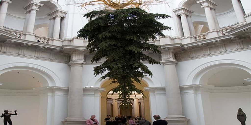 Real meaning behind upside down Christmas trees and why you're seeing them everywhere   98 Rock ...