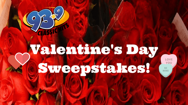 Valentine's Day Sweepstakes!