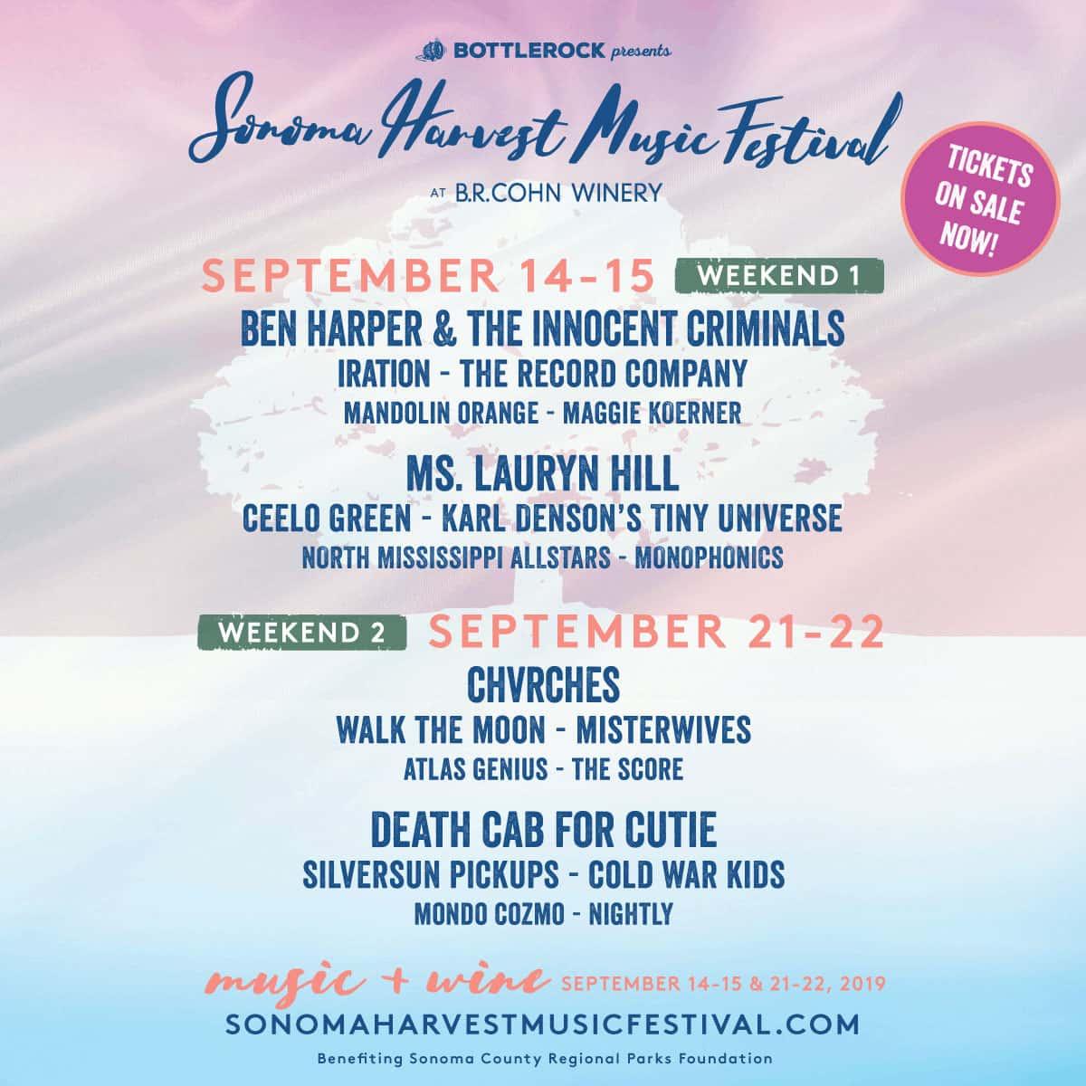 Sonoma Harvest Music Festival   KVYN