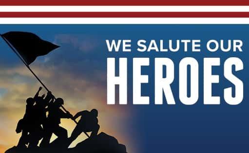 We Salute Our Heroes Festival   106.9 The Eagle - WWEG-FM