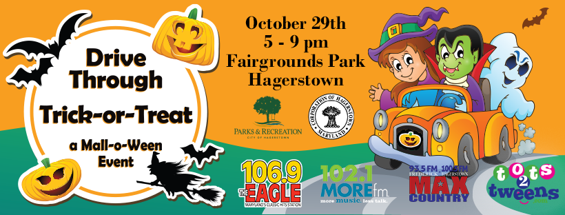 Halloween Trick Or Treat Hagerstown 2020 Drive Through Trick or Treat – Hagerstown & Frederick | 106.9 The