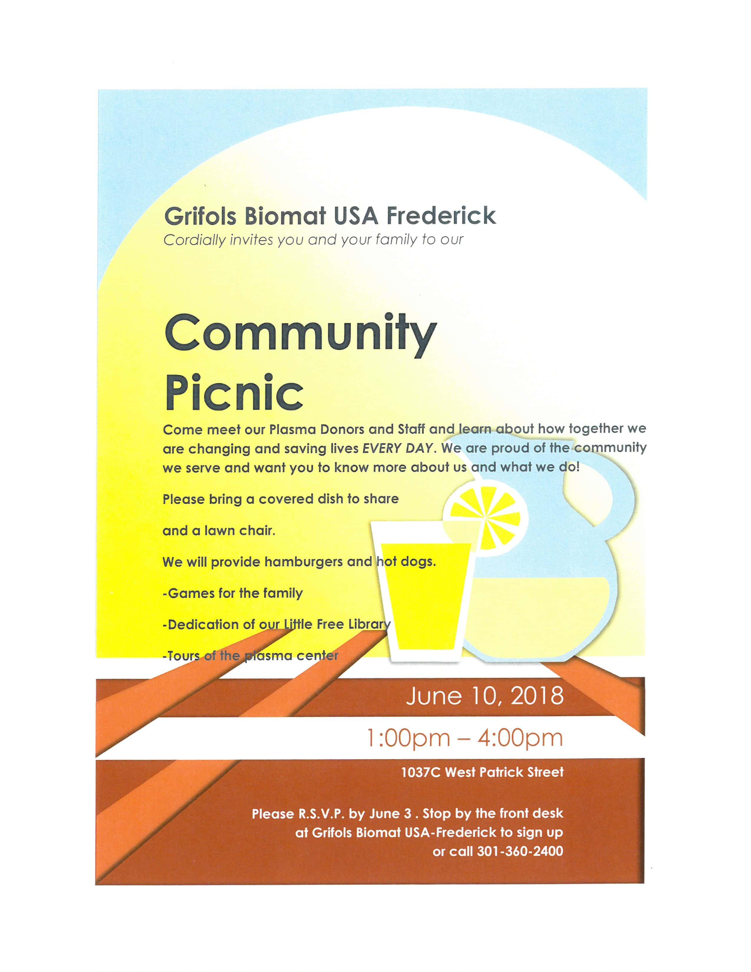 Community Picnic | Key 103