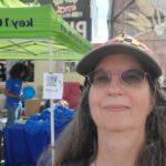 At the fair: Visiting Key 103 at the fair