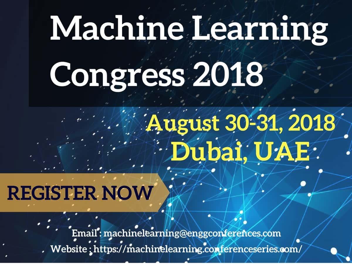 Resultado de imagen de Machine Learning congress