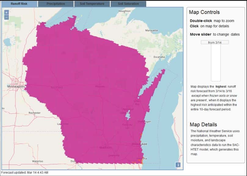 Pink Isn't Pretty For Wisconsin Runoff Risk Map | Farm Report