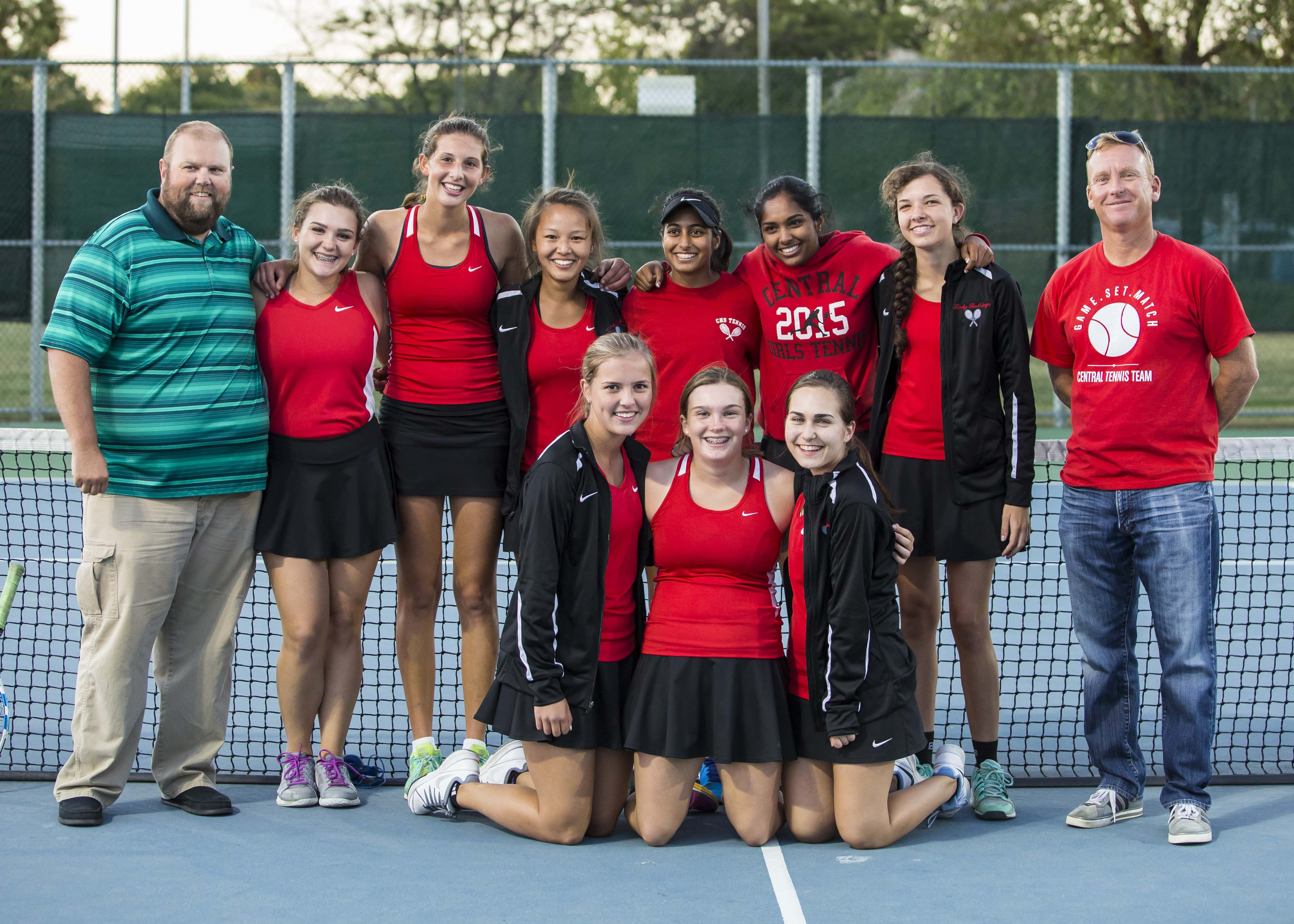 Athletes of the Week: Central Girls Tennis   Ozark Sports Zone
