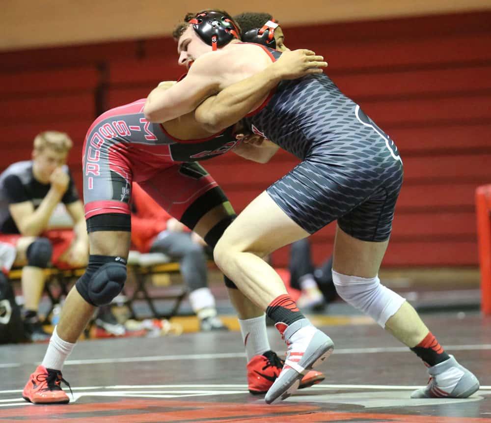 nfhs wrestling dual meet tie breaker criteria