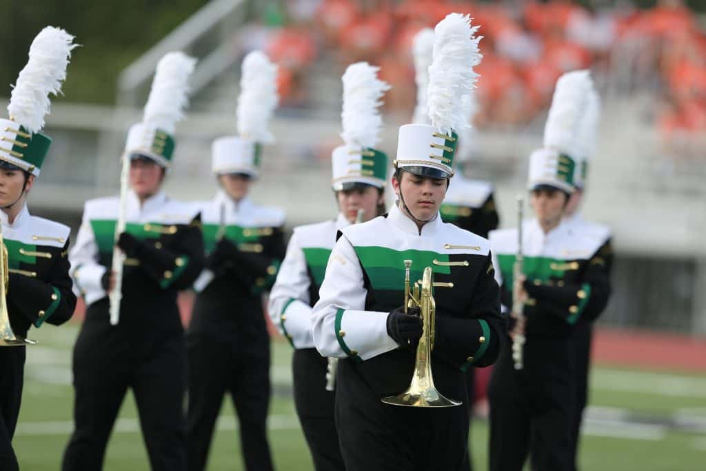 Pictures: Parkview Marching Band at Valhalla | Ozark Sports