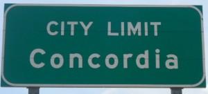 CITY LIMIT-CONCORDIA