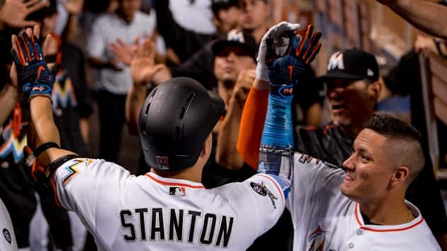 5d9706f42f1 Marlins  Giancarlo Stanton hits his 55th HR
