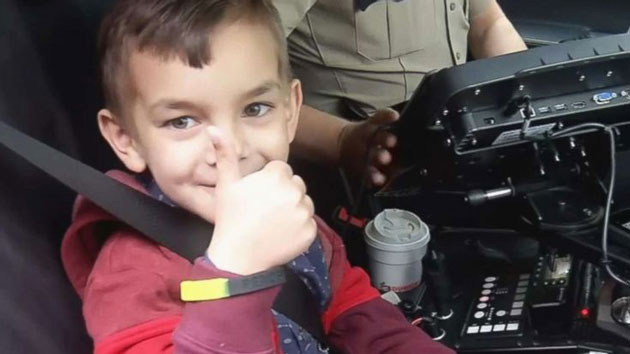 Cop receives avid and nails this boy