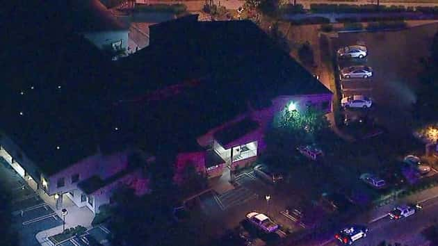 324c4ec8be66a3 Officer among 12 killed in mass shooting at California bar