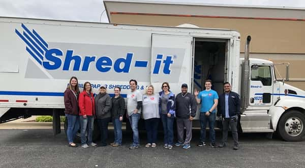 Shred-a-thon shreds 10,000 pounds of paper, provides 17,000