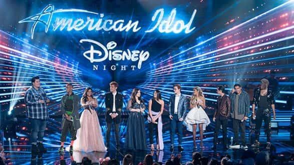 On Disney Night, 'American Idol' reveals its top eight as
