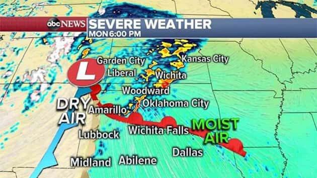 Life-threatening Tornado Outbreak, Flash Flooding Possible