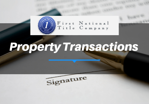 Property Transactions
