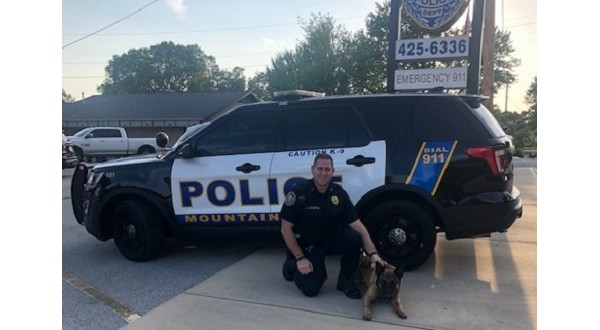 MHPD K9 Gets Donation Of Body Armor