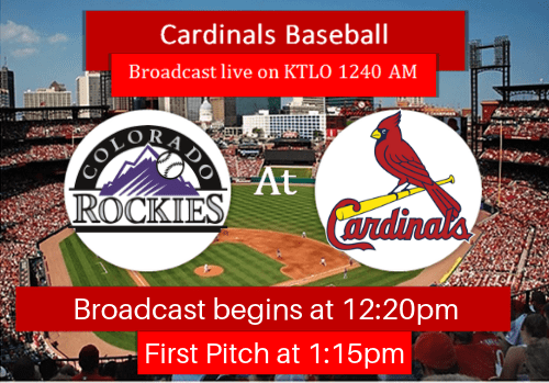 Cardinals Rockies 8.25.19