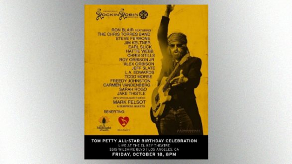 L.A. Charity Concert Celebrating Tom Petty's Birthday To