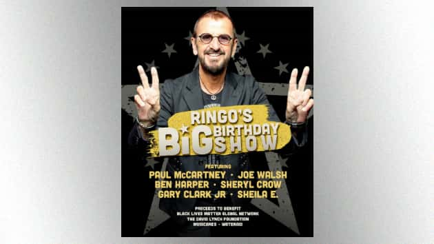 Ringo Starr Announces Streaming 80th Birthday Concert Special Featuring Paul Mccartney Joe Walsh And More Ktlo