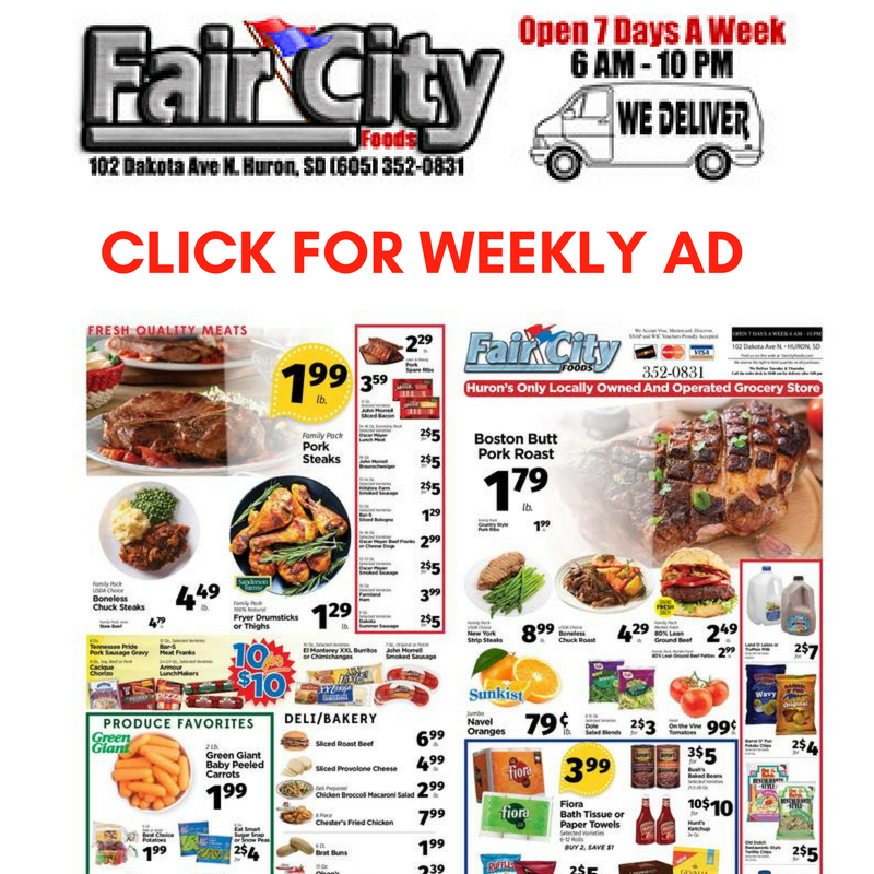 Click for Weekly Specials