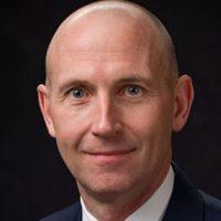 Official portrait of USD Law School Dean Neil Fulton