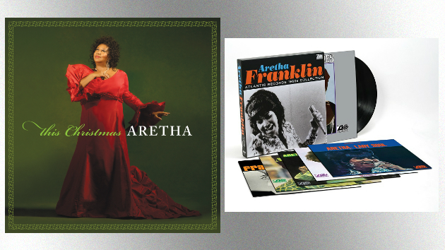 New vinyl Aretha Franklin releases coming, including Christmas album and '60s box set