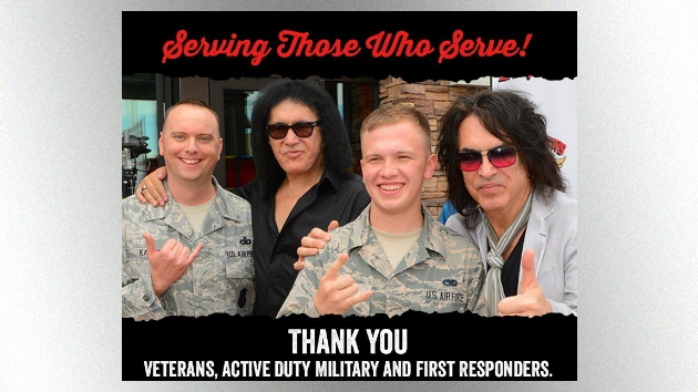 KISS members' Rock & Brews restaurant chain offering free meals to military members on Veterans Day